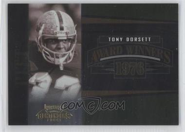 2006 Playoff Contenders Award Winners #AW-26 - Tony Dorsett /1000