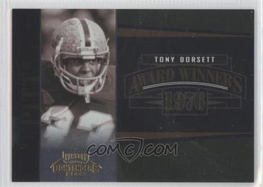 2006 Playoff Contenders Award Winners #AW-26 - Tony Dorsett /1000