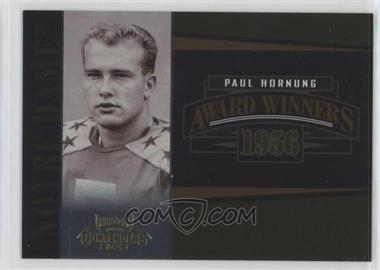 2006 Playoff Contenders Award Winners #AW-27 - Paul Hornung /1000