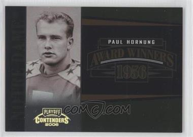 2006 Playoff Contenders Award Winners #AW-27 - Paul Hornung /1000