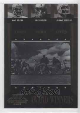 2006 Playoff Contenders Award Winners #AW-40 - Eric Crouch, Mike Rozier, Johnny Rodgers /1000