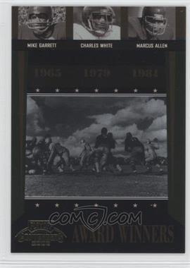 2006 Playoff Contenders Award Winners #AW-44 - Charles White, Marcus Allen, Mike Garrett /1000