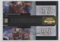 Manny Lawson, Brandon Williams /250