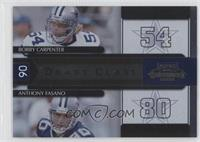 Anthony Fasano, Bobby Carpenter /1000