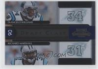 DeAngelo Williams, Richard Marshall /1000