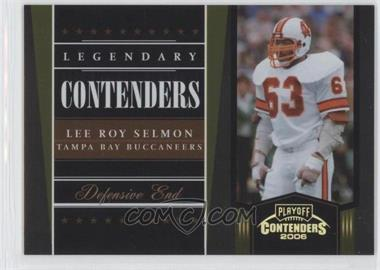 2006 Playoff Contenders Legendary Contenders Gold #LC-12 - Lee Roy Selmon /250
