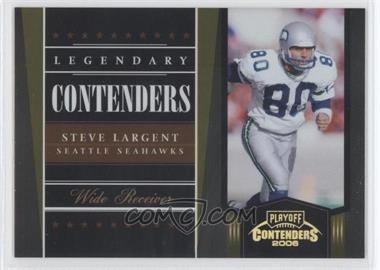 2006 Playoff Contenders Legendary Contenders Gold #LC-17 - Steve Largent /250