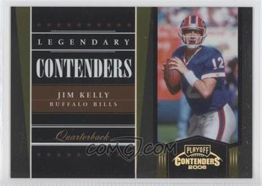2006 Playoff Contenders Legendary Contenders Gold #LC-18 - Jim Kelly /250