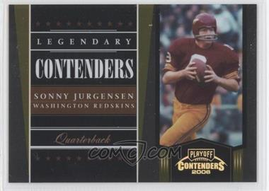 2006 Playoff Contenders Legendary Contenders Gold #LC-25 - Sonny Jurgensen /250