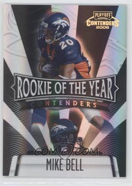 2006 Playoff Contenders Rookie of the Year Contenders Black #ROY-16 - Mike Bell /100