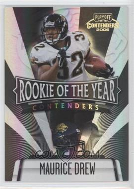 2006 Playoff Contenders Rookie of the Year Contenders Black #ROY-25 - Maurice Jones-Drew /100