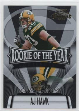 2006 Playoff Contenders Rookie of the Year Contenders #ROY-15 - AJ Hawk /1000