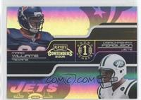 D'Brickashaw Ferguson, Mario Williams /100