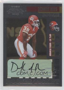 2006 Playoff Contenders #135 - Derrick Ross