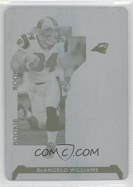 2006 Playoff NFL Playoffs Printing Plate Cyan #75 - DeAngelo Williams /1