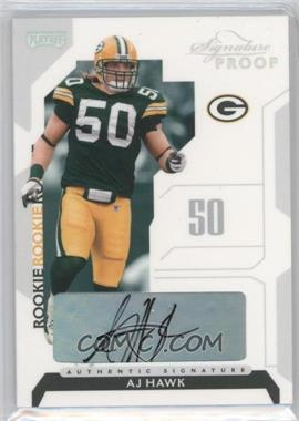 2006 Playoff NFL Playoffs Silver Signature Proof [Autographed] #82 - AJ Hawk /150