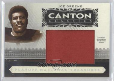 2006 Playoff National Treasures - Canton Classics - Jumbo Materials [Memorabilia] #CC-JG - Joe Greene /25