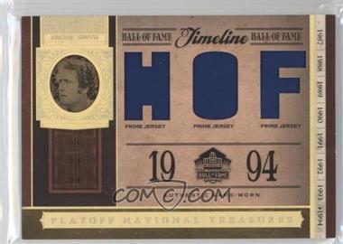 2006 Playoff National Treasures - Timeline - HOF Materials Prime [Memorabilia] #TL-JS - Jackie Smith