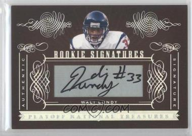 2006 Playoff National Treasures [???] #150 - Wali Lundy /200