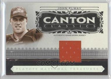 2006 Playoff National Treasures [???] #CC-JE - John Elway /99