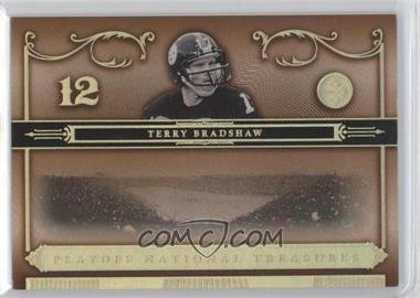 2006 Playoff National Treasures Gold #96 - Terry Bradshaw /25