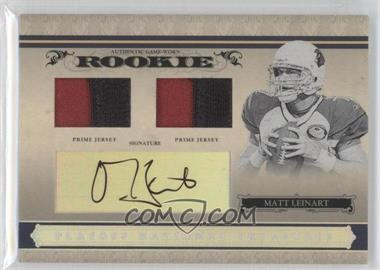 2006 Playoff National Treasures Rookie Combo Silver Material Signatures [Autographed] [Memorabilia] #111 - Matt Leinart /99