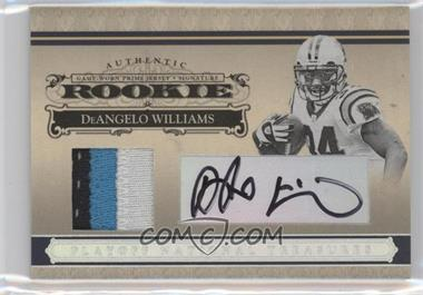 2006 Playoff National Treasures Rookie Silver Materials Signatures [Autographed] [Memorabilia] #122 - DeAngelo Williams /49