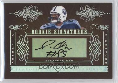 2006 Playoff National Treasures #170 - Jonathan Orr /200