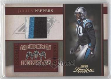 2006 Playoff Prestige - Gridiron Heritage - Materials Prime [Memorabilia] #GH 7 - Julius Peppers /50