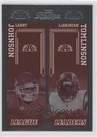 LaDainian Tomlinson, Larry Johnson /100