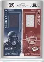Shaun Alexander, LaDainian Tomlinson, Larry Johnson, Steve Smith /250