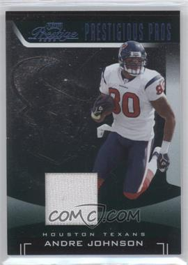 2006 Playoff Prestige Prestigious Pros Green Materials [Memorabilia] #PP-2 - Andre Johnson /100