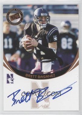 2006 Press Pass Autographs Bronze #BRBA - Brett Basanez