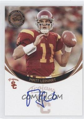 2006 Press Pass Autographs Bronze #MALE - Matt Leinart