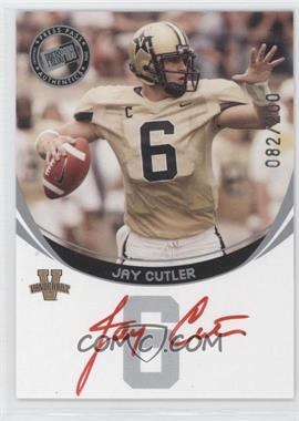 2006 Press Pass Autographs Silver Red Ink #N/A - Jay Cutler /200