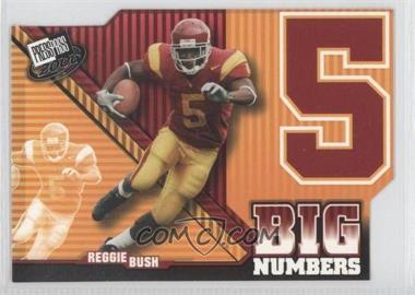 2006 Press Pass Big Numbers #BN 26 - Reggie Bush