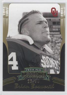 2006 Press Pass Legends Gold #G75 - Brian Bosworth /99