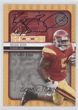 2006 Press Pass SE - Class of 2006 Autographs #N/A - Reggie Bush /100