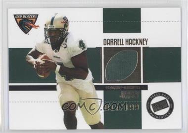 2006 Press Pass SE - Game Used Jerseys - Gold #JC/DH - Darrell Hackney /199