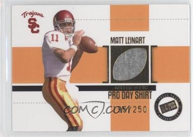 2006 Press Pass SE - Game Used Jerseys - Gold #JC/ML - Matt Leinart /250