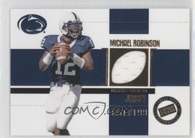 2006 Press Pass SE - Game Used Jerseys - Gold #JC/MR - Michael Robinson /199