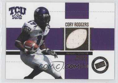 2006 Press Pass SE Game Used Jerseys Gold #JC/CR - Cory Rodgers /250