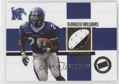 2006 Press Pass SE Game Used Jerseys Gold #JC/DW - DeAngelo Williams /199