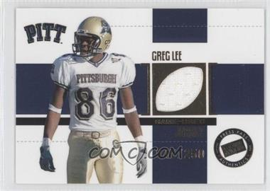2006 Press Pass SE Game Used Jerseys Gold #JC/GL - Greg Lee /250