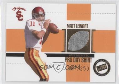 2006 Press Pass SE Game Used Jerseys Gold #JC/ML - Matt Leinart /250