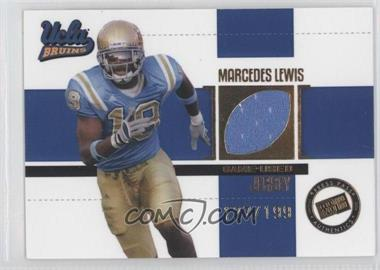 2006 Press Pass SE Game Used Jerseys Gold #JC/ML2 - Marcedes Lewis /199