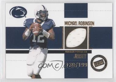 2006 Press Pass SE Game Used Jerseys Gold #JC/MR - Michael Robinson /199