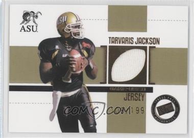 2006 Press Pass SE Game Used Jerseys Gold #JC/TJ - Tarvaris Jackson /199