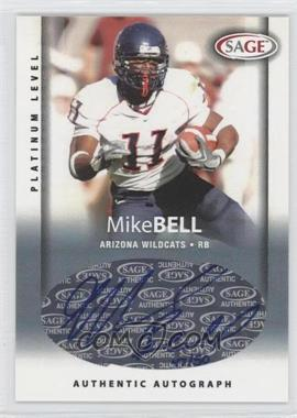 2006 SAGE [???] #A5 - Mike Bell