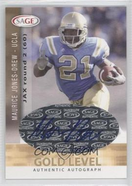 2006 SAGE Autographs Gold Level #A29 - Maurice Jones-Drew